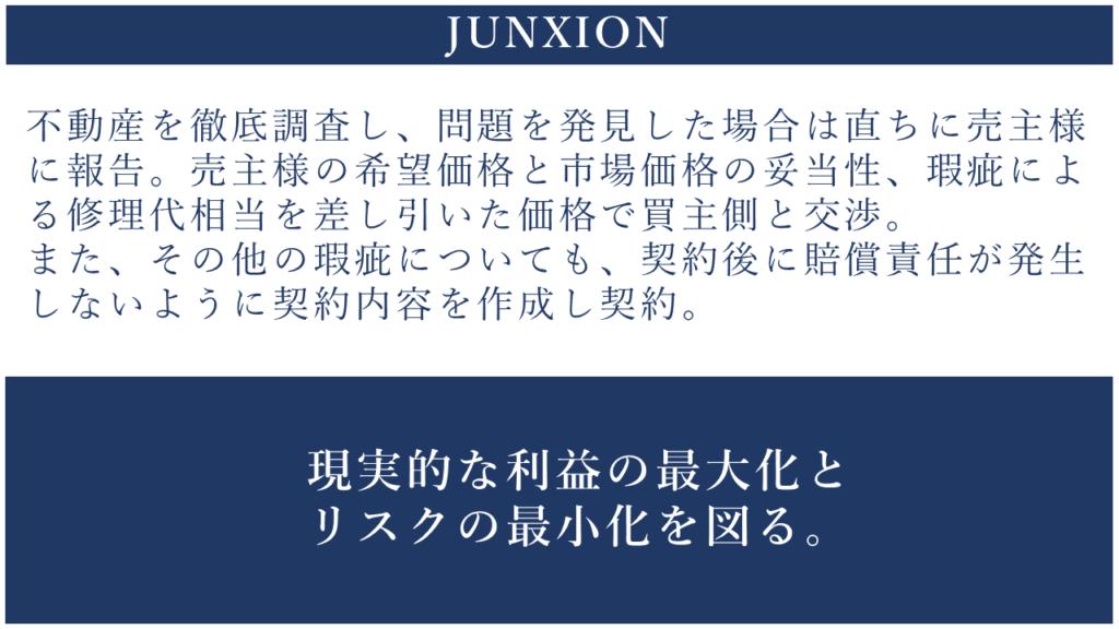 調査 リスク対策 横浜 不動産 売却 仲介 買取 junxion ジャンクション